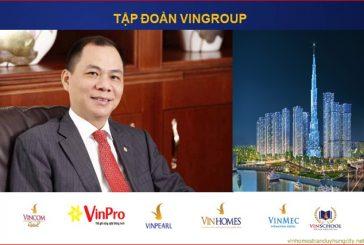 Top 5 doanh nghiệp tư nhân lớn nhất Việt Nam theo bảng xếp hạng  VNR500 năm 2017