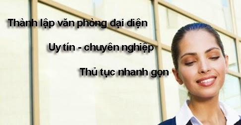 Thành lập văn phòng đại diện tại Nghệ An
