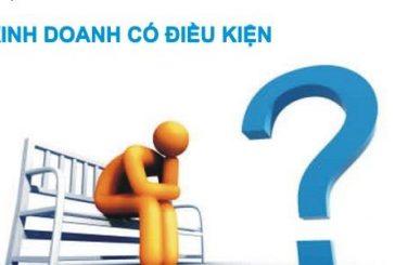 Ngành nghề kinh doanh nào yêu cầu điều kiện về an ninh trật tự