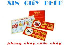 Ngành nghề nào cần xin giấy chứng nhận đủ điều kiện phòng cháy chữa cháy