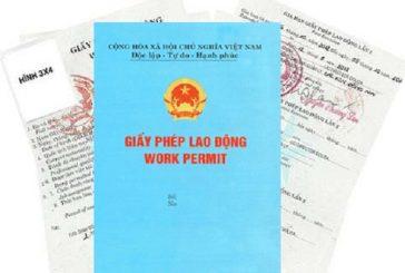Quy trình xin giấy phép lao động