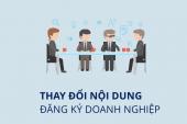 Hướng dẫn đăng ký thay đổi tên công ty theo đúng quy định