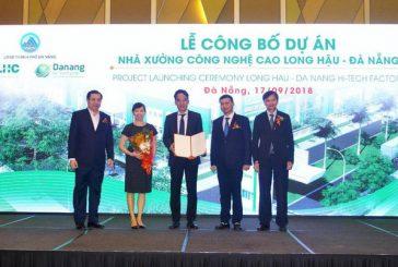 Công ty CP Long Hậu chính thức công bố dự án Nhà xưởng đầu tiên tại Đà Nẵng