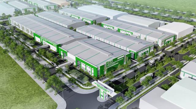 Phối cảnh dự án Nhà xưởng công nghệ cao do LHC đầu tư tại Khu công nghệ cao Đà Nẵng.
