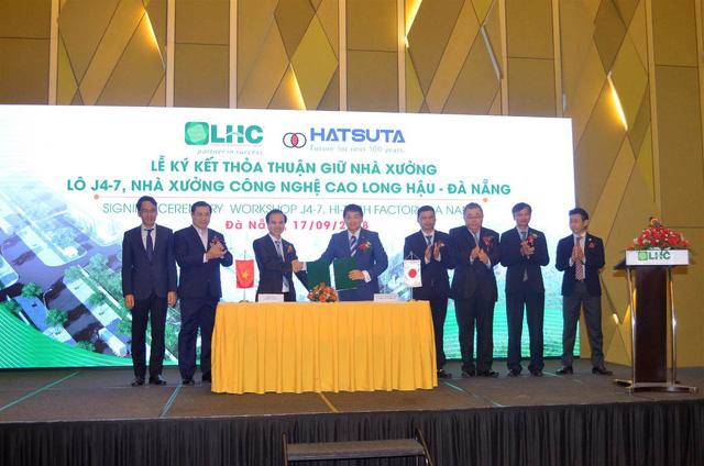 Công ty Long Hậu đã chính thức ký kết Thỏa thuận giữ nhà xưởng đầu tiên với doanh nghiệp Nhật Bản - Công ty TNHH Hatsuta Seisakusho.