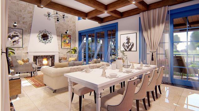 Các căn biệt thự Sunshine Villas đều sở hữu nội thất độc bản, xa xỉ đến từ các thương hiệu hàng đầu trên thế giới.