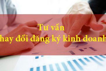 Thủ tục thay đổi đăng ký kinh doanh công ty TNHH năm 2020